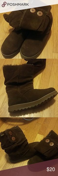 Sketchers brown boots, EUC Size 7, brown boots sketchers Shoes Ankle Boots & Booties
