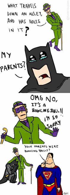 Oh Master Wayne...