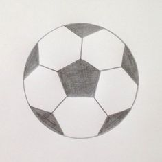 """Learn To Draw Learn math concepts while developing your drawing skills with """"How to Draw a Soccer Ball for Grades 2 and Up"""" on TpT How To Draw Hair, Learn To Draw, Learn Math, Soccer Drawing, Soccer Pro, Kids Soccer, Football Soccer, Drawing Skills, Drawing Tips"""