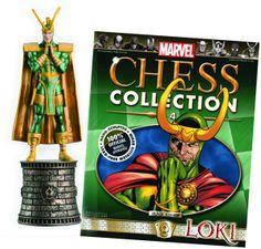 Marvel Chess #4 Loki.