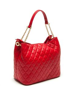Renata Corsi   Leather bag in red