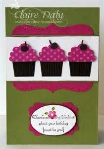 and the Create a Cupcake stamp set and Build a Cupcake Punch ....