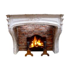 d4347de918ff.png ❤ liked on Polyvore featuring fireplace