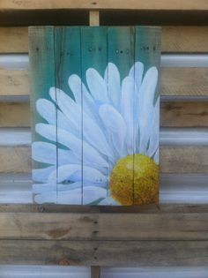 Delicious Daisy 16.5x23.5in approx.Original Acrylic by FunkNThrash
