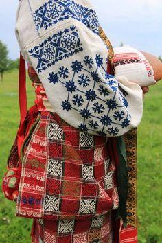 Традиційній одяг для Гадяцького району Полтавської області України