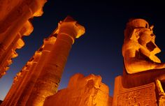 Luxor Temple, a cache of statues found at Luxor contained some of the most beautiful examples of Egyptian statuary found to date,  Visit the below link for more information http://www.travel2egypt.org/tours/cairo-abu-simble-aswan-luxor/marvelous-abu-simbel-8422_83/