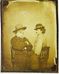 Walt Whitman and Peter Doyle