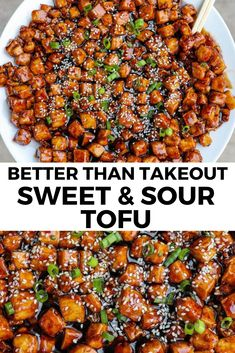 The best vegan tofu recipe - SO FLAVORFUL Best Tofu Recipes, Tasty Vegetarian Recipes, Vegan Dinner Recipes, Veg Recipes, Whole Food Recipes, Healthy Recipes, Best Vegan Meals, Firm Tofu Recipes, Vegan Recipes For One