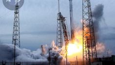 SpaceX Makes Strides Towards 1st Stage Falcon Rocket Recovery during Space Station Launch