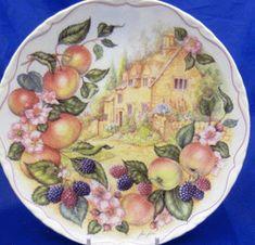 Royal Albert - Harvest Festival - Collector Plates - Apple