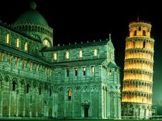 Duomo Leaning Tower Pisa (Italy)
