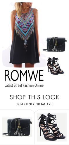 """ROMWE"" by almamehmedovic-79 ❤ liked on Polyvore"