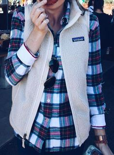 Plaid and Patagonia