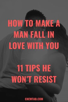 How to Make a Man Fall in Love With You Using All of His Senses. You will often focus mainly on physical appearances when trying to figure out how to make a guy fall in love with you. Make Him Want You, A Guy Like You, Love Me More, Make A Man, How To Make, What Makes A Man, Addicted To You, Strong Feelings, The Right Man