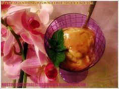 ΠΑΓΩΤΟ ΜΠΑΝΑΝΑ ΕΞΠΡΕΣ!!! Vegan Sweets, Sweets Recipes, Desserts, Punch Bowls, Dairy Free, Pudding, Ice Cream, Banana, Granite