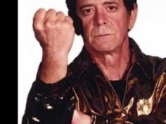 Lou Reed - Walk On The Wild Side - source for the best music trivia question ever -- who is the group of backup singers on this song?  If you can't find it and wanna know ask me.