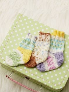 Pretty Baby Socks | Free Pattern | Yarnspirations