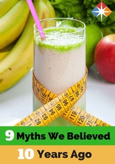 Check it out--we fell for these 9 health & fitness fallacies 10 years ago! My, my, my how things have changed! Learn what we thought were good diet practices then vs. what are good, healthy reasons to take care of yourself now.