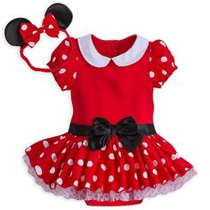 d7010aad81e Disney Store Authentic Minnie Mouse Baby Costume   Headband 3 6 9 12 18  Months