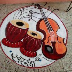 Ideas Flowers Garden Drawing Simple For 2019 Easy Rangoli Designs Diwali, Rangoli Designs Latest, Rangoli Designs Flower, Small Rangoli Design, Rangoli Patterns, Colorful Rangoli Designs, Rangoli Ideas, Rangoli Designs Images, Flower Rangoli