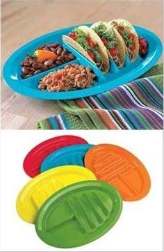idea: taco plate...