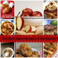 The Best Apple Recipes of the Season - ThirtySomethingSuperMom