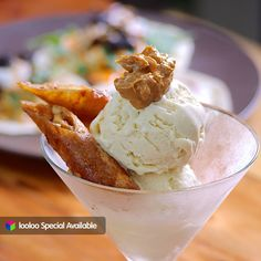 Earth Kitchen is back w/ their Special! Just make sure you spend a min. of ₱800 to get a FREE ice cream! :) And what goes well w/ ice cream? Organic Beef Kebab of course! :P Don't forge to try it!  See why looloo users love them here: http://looloo.com/p/36977-earth-kitchen