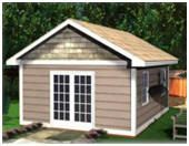Instant Download StorageShed Plans from StorageShed-Plans.com:  Build the perfect storage shed, workshop or cabana for your backyard, with easy-to-use, instant download building plans. These practical, attractive buildings are available in a variety of different designs and in many sizes, from 8'x8' to 16'x24'.