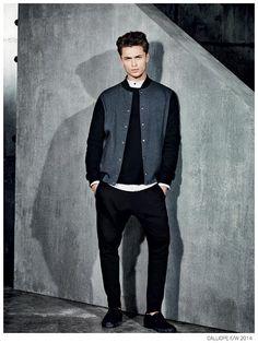 Harvey Haydon Dons Sleek Styles for Calliope Fall/Winter 2014 Campaign image Calliope Fall Winter 2014 Ad Campaign Harvey Haydon 003