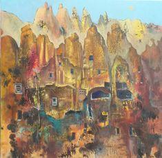 """Cappadocia"" Oil on canvas  Size 50*50cm."