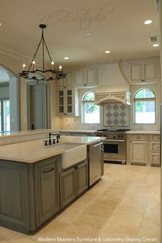 114 best French Country Kitchen images on Pinterest in 2018 ... French Country Kitchen Cabinets Colors Painting Ideas on french country furniture painting, shabby chic kitchen cabinets painting, french provincial kitchen cabinets, french country kitchens from provence, french country interiors, french country style kitchens, french cottage style kitchens, french country style homes, french country blue paint, white kitchen cabinets painting, french country cabinet colors, french style kitchen cabinets,