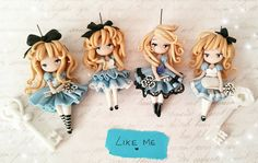"""1,032 Likes, 16 Comments - Petite Maria Tortorici (@lapetitedeco) on Instagram: """"Waiting  for  #cartoomics2017 with #aliceinwonderland #polymerclay #fimocreations #fimodoll…"""""""