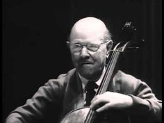 """""""The capacity to care is what gives life its most deepest significance."""" ~ Pablo Casals. https://www.youtube.com/watch?v=PvZpZ24r5sI Pablo Casals - Bach Cello Suites Nos. 1-6"""