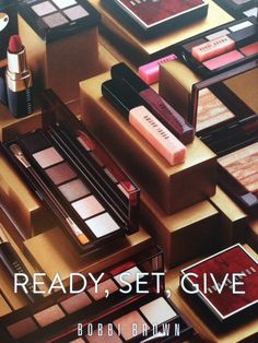 Ready, Set, Give Well, Christmas products are rolling in thick and fast and I can't avoid using...