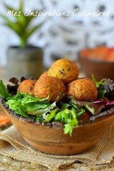 Boulettes de lentilles corail cuisine végétarienne