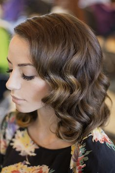 glam wavy hairstyles shoulder length hair - Google Search