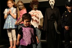 The youngest contestant at the #LRFF kids Halloween costume contest