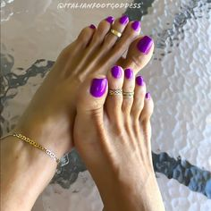 Pin by george merritt on dream toes in 2019 педикюр. Sexy Nails, Sexy Toes, Prom Nails, Nice Nails, Fun Nails, Hot Pink Toes, Purple Toes, Hot Pink Pedicure, Nice Toes