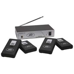Peavey Assisted Listening system includes transmitter, four receivers and four standard ear buds Professional Audio, Flip Clock, Apple Tv, Walmart Shopping, Ear, Electronics, Consumer Electronics
