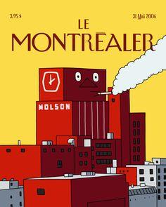 «Le Montréaler»: honorer Montréal en 55 couvertures - Baron Mag