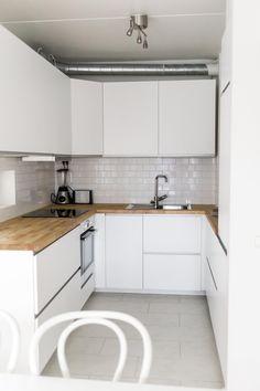 Ikea-keittiö Decor, Home, Kitchen Cabinets, Cabinet, Kitchen