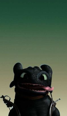 How to train your dragon! Cute Toothless, Toothless And Stitch, Toothless Dragon, Hiccup And Toothless, Httyd, Dragon Wallpaper Iphone, Toothless Wallpaper, Disney Phone Wallpaper, Cartoon Wallpaper