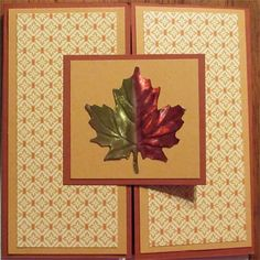 Fall Greetings by pjmelott - Cards and Paper Crafts at Splitcoaststampers