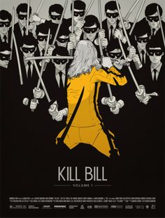 Kill Bill Vol.1 poster by Gianmarco Magnani