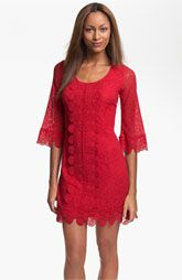 Laundry by Shelli Segal Lace Overlay Shift Dress.  Nordstrom