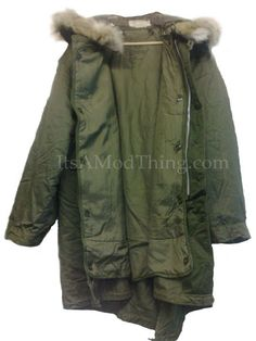 Authentic U.S. Army Issue M-1951 Fishtail Parka's Available :)