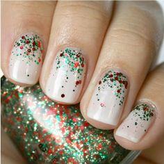 Holidays are almost over but we love these #nails #nailart