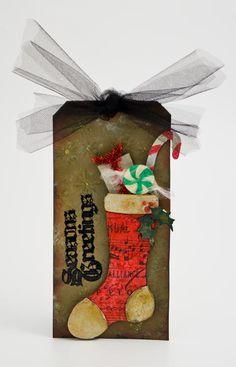 Seasons Greetings Tag by Patti Behan