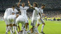 #Madrid scored twice in the dying moments to overcome Manchester City 3-2