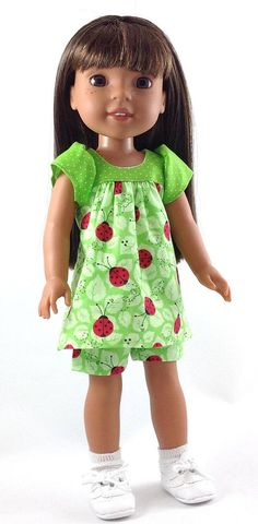14.5 Inch Doll Clothes fits Dolls Like Wellie Wishers Doll
